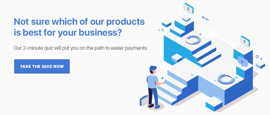 Right payment solution for you infographic